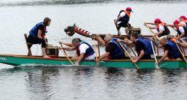 Wikingowie wypływają na Trzesiecko