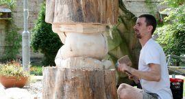 Studenci rzeźbią. Efekty znów trafią do parku?