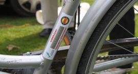 Rower bezpieczny, ale z uszkodzonym lakierem