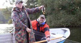 Trzesiecko do kontroli – z sieciami na ryby