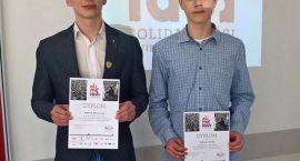 Sukcesy uczniów z I LO na Olimpiadzie Solidarności