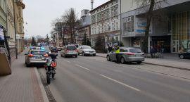 Zderzenie z motocyklistą na Wyszyńskiego