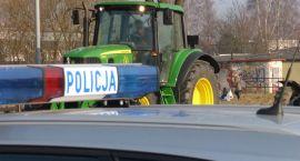 39-latek prowadził traktor, mając dożywotni zakaz