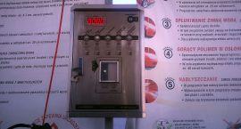 Złodziej chciał okraść automat z monet