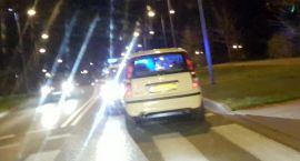 Fiat uciekał ulicami Szczecinka