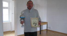 Waldemar Przerwa został Mistrzem Szczecinka w szachach