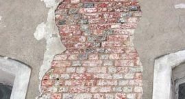 Na zamku odkryto oryginalne gotyckie ściany