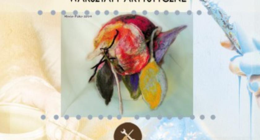 Wydarzenia, Malowanie filcem - zdjęcie, fotografia