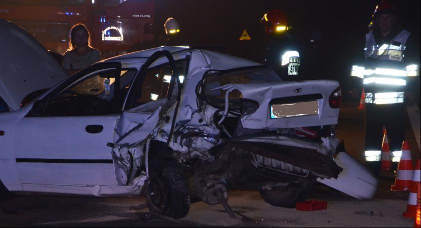 Zdarzenia, Wypadek autostradzie - zdjęcie, fotografia