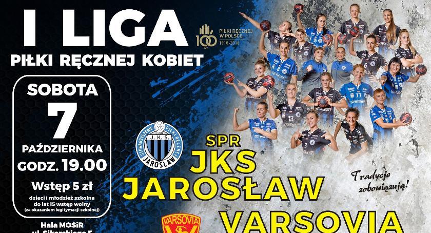 Mecz I Ligi Piłki Ręcznej Kobiet: SPR JKS Jarosław – Varsovia Warszawa