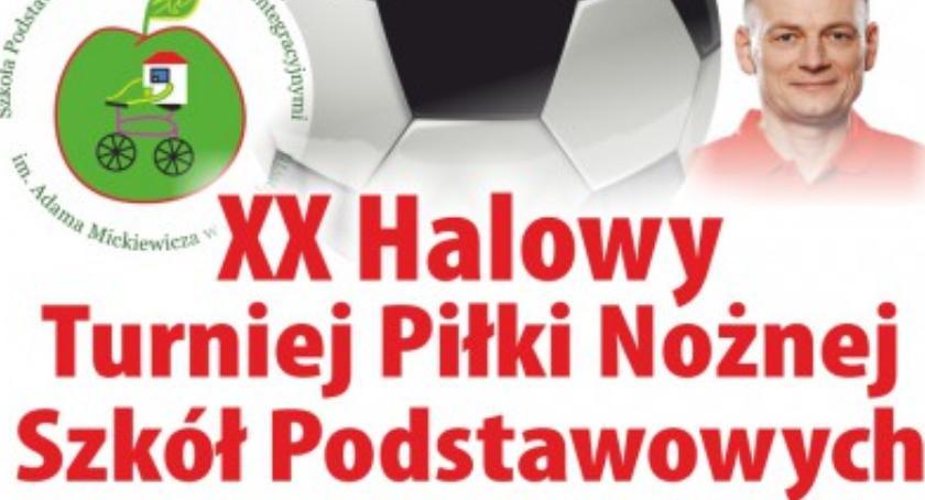 Sport, Halowy Turniej Piłki Nożnej Szkół Podstawowych - zdjęcie, fotografia