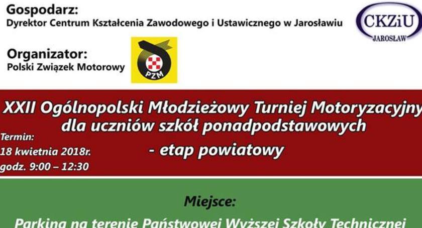 Wydarzenia, Ogólnopolski Młodzieżowy Turniej Motoryzacyjny uczniów szkół ponadpodstawowych - zdjęcie, fotografia