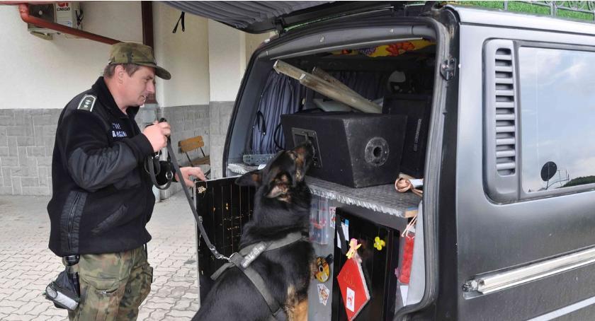 Zdarzenia, Francuzi zatrzymani zielonej granicy przewozili narkotyki - zdjęcie, fotografia