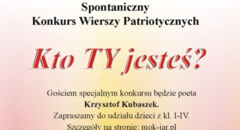 """Wydarzenia, Spontaniczny Konkurs Wierszy Patriotycznych """"Kto jesteś - zdjęcie, fotografia"""
