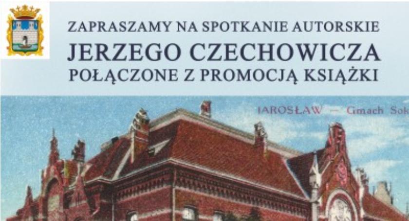 Wydarzenia, Spotkanie autorskie promocja książki Jerzego Czechowicza - zdjęcie, fotografia