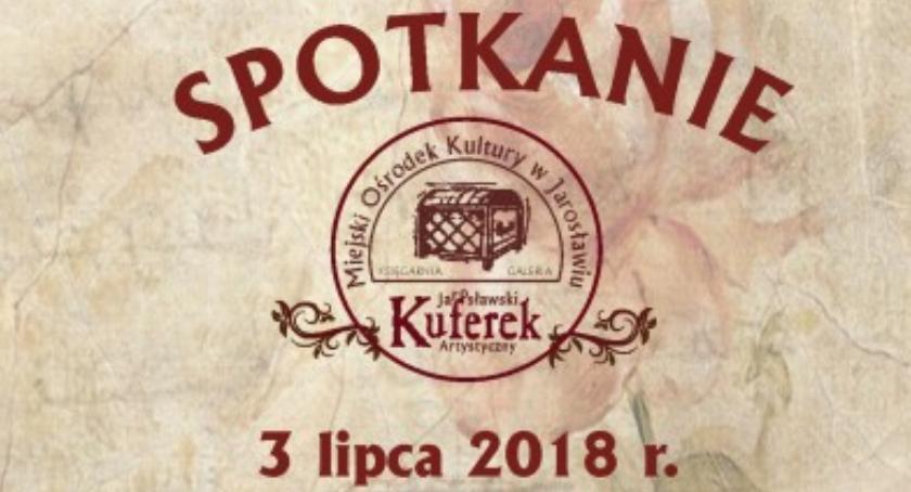 """Wydarzenia, """"Pasje jarosławskiego Kuferka"""" spotkanie Markiem Gliwą - zdjęcie, fotografia"""