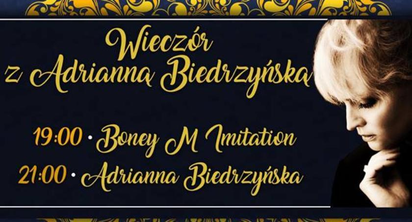 Wydarzenia, Wieczór Adrianną Biedrzyńską - zdjęcie, fotografia