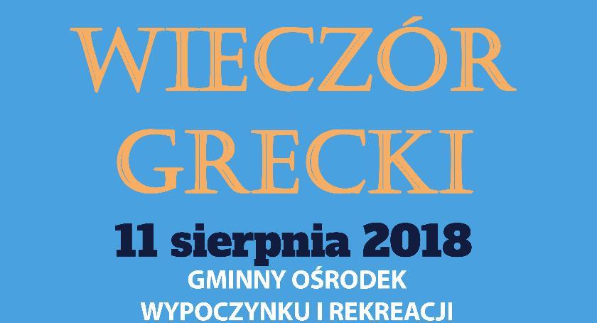 Wydarzenia, Wieczór Grecki - zdjęcie, fotografia