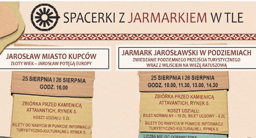 Wydarzenia, Spacerki Jarmarkiem - zdjęcie, fotografia