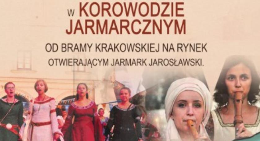 Wydarzenia, Korowód Jarmarczny - zdjęcie, fotografia