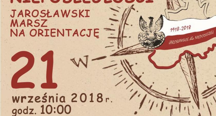 Wydarzenia, Śladami niepodległości Jarosławski marsz orientację - zdjęcie, fotografia
