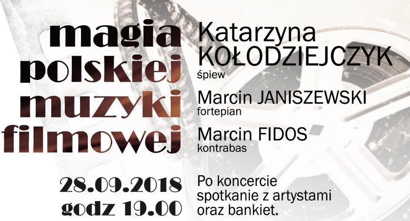 Wydarzenia, Koncert Magia Polskiej Muzyki Filmowej - zdjęcie, fotografia