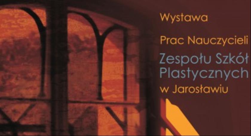 Kultura, Wystawa nauczycieli artystów plastyków Stanisława Wyspiańskiego Jarosławiu - zdjęcie, fotografia