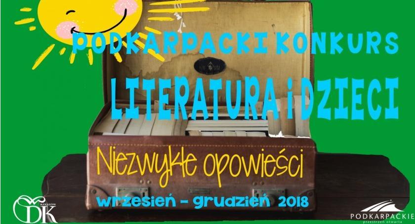 Kultura, Niezwykłe opowieści konkurs Literatura Dzieci - zdjęcie, fotografia