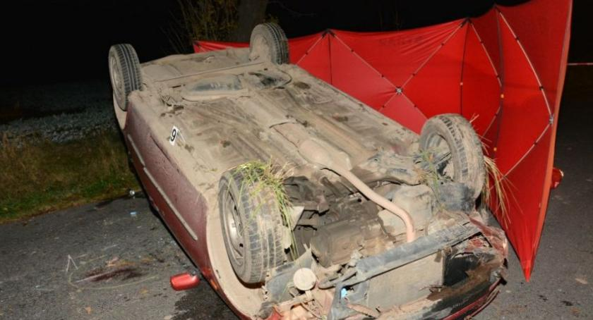 Śmiertelny wypadek w Morawsku