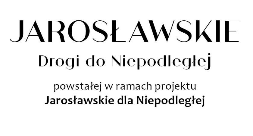 Kultura, Promocja książki Jarosławskie Drogi Niepodległej - zdjęcie, fotografia