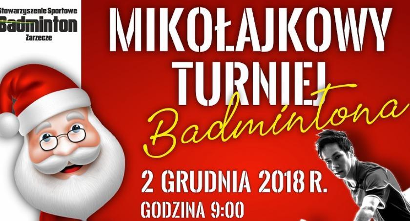 Mikołajkowy Turniej Badmintona