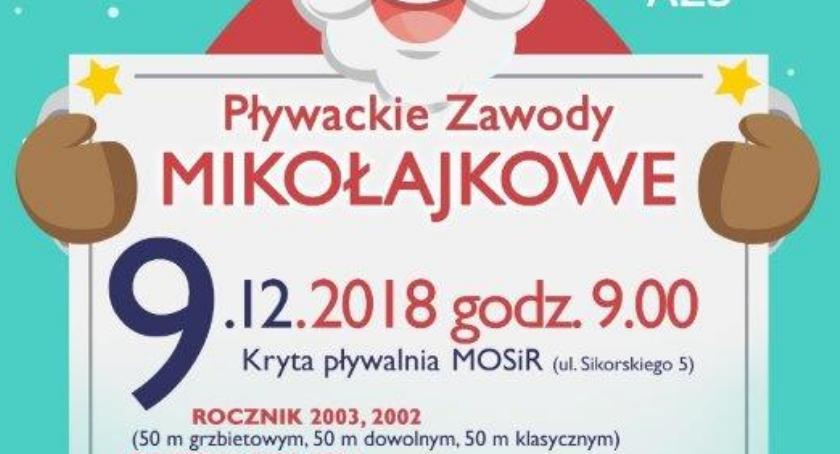 Sport, Pływackie Zawody Mikołajkowe - zdjęcie, fotografia