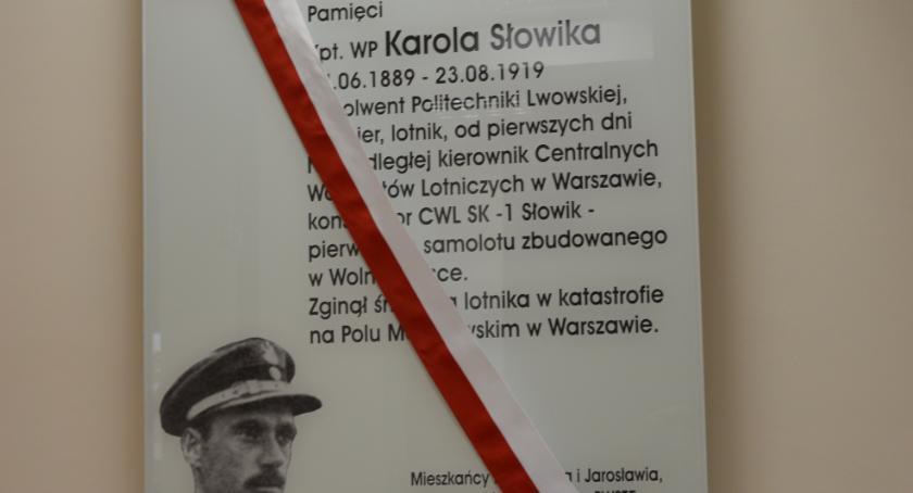 Upamiętnili kapitana Karola Słowika