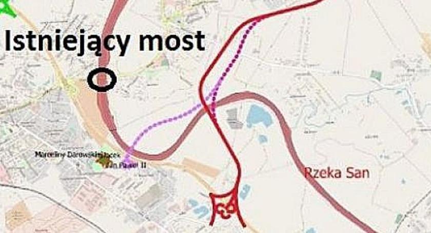 Wybrano lokalizację nowego mostu na Sanie