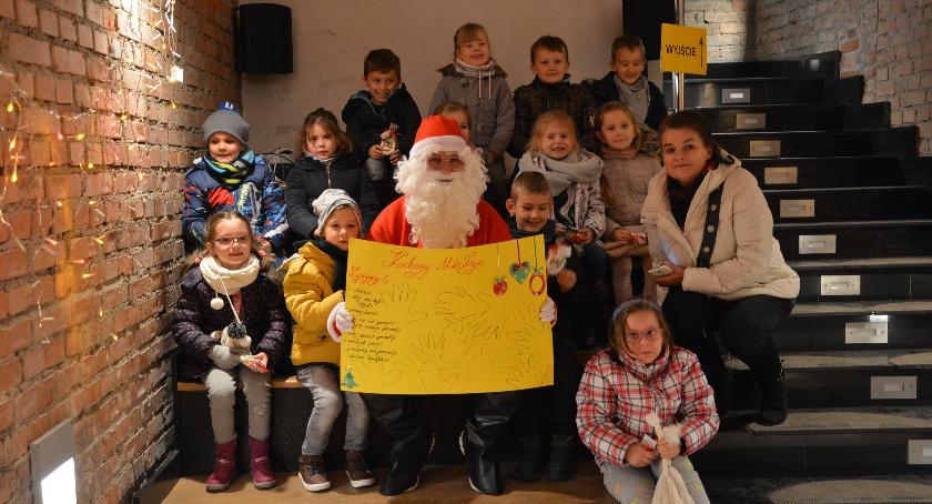 Imprezy, Spotkanie Mikołajem Podziemnym Przejściu Turystycznym - zdjęcie, fotografia