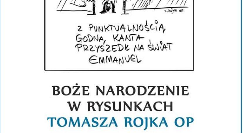Kultura, Boże Narodzenie rysunkach Tomasza Rojka - zdjęcie, fotografia