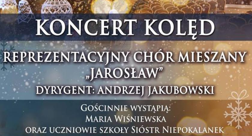 """Kultura, Koncert kolęd wykonaniu Reprezentacyjnego Chóru Mieszanego """"Jarosław"""" - zdjęcie, fotografia"""