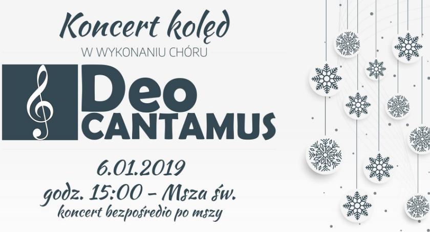 Kultura, Koncert kolęd wykonaniu chóru Cantamus Tuczempach - zdjęcie, fotografia