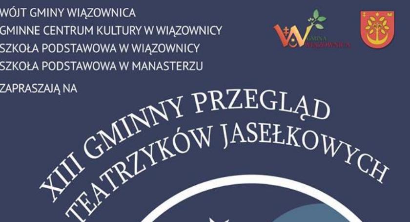 Wydarzenia, Gminny Przegląd Teatrzyków Jasełkowych Wiązownicy - zdjęcie, fotografia
