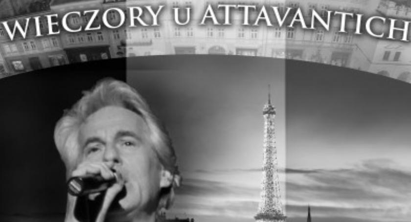 """Kultura, Wieczory Attavantich """"Paryżu kocham cię"""" - zdjęcie, fotografia"""
