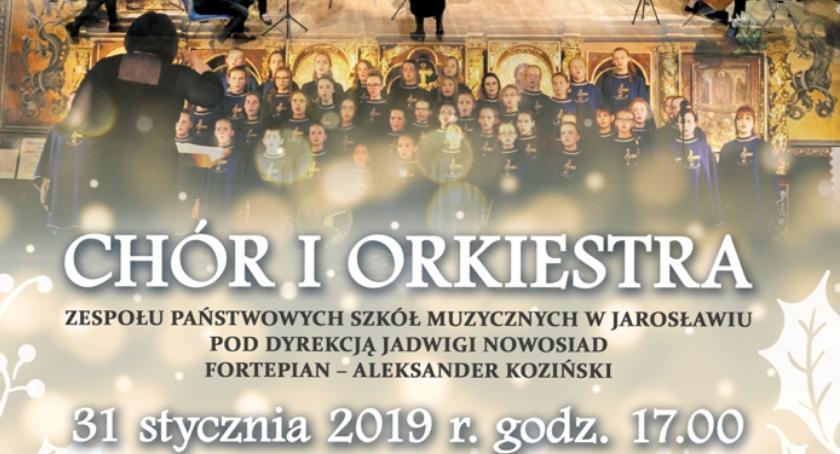 Kultura, Koncert Noworoczny Chór Orkiestra Jarosławiu - zdjęcie, fotografia