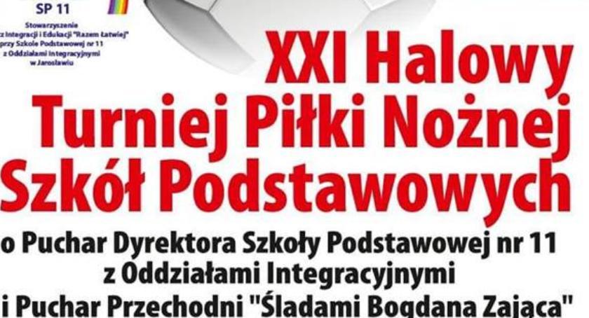 XXI Halowy Turniej Piłki Nożnej Szkół Podstawowych