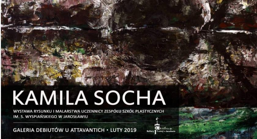 Kultura, Wystawa Kamili Sochy - zdjęcie, fotografia