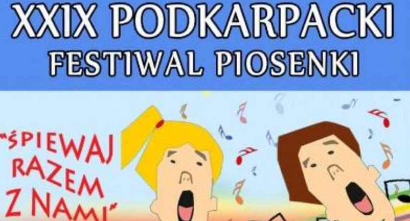 XXIX Podkarpacki Festiwal Piosenki ,,Śpiewaj razem z nami