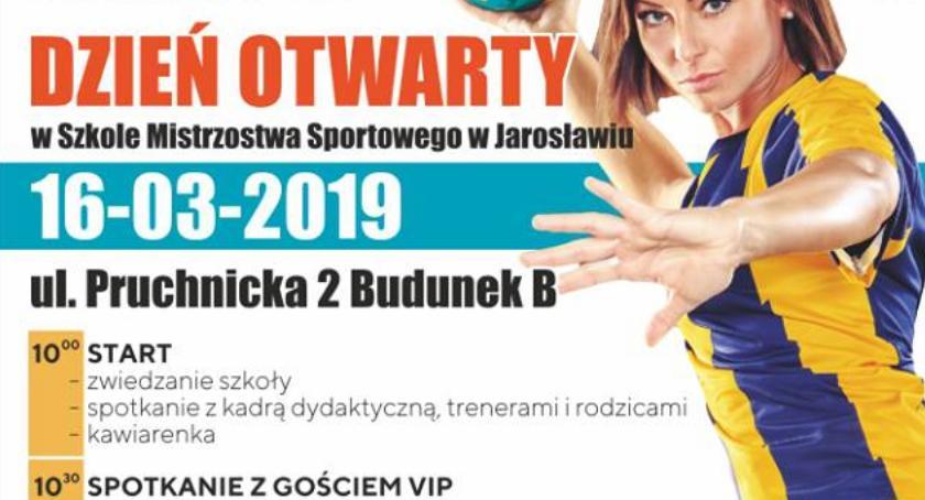 Dzień Otwarty w Szkole Mistrzostwa Sportowego w Jarosławiu