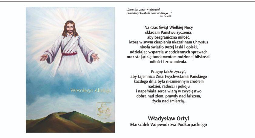 Samorząd, Chrystus zmartwychwstał zmartwychwstała nasza nadzieja - zdjęcie, fotografia