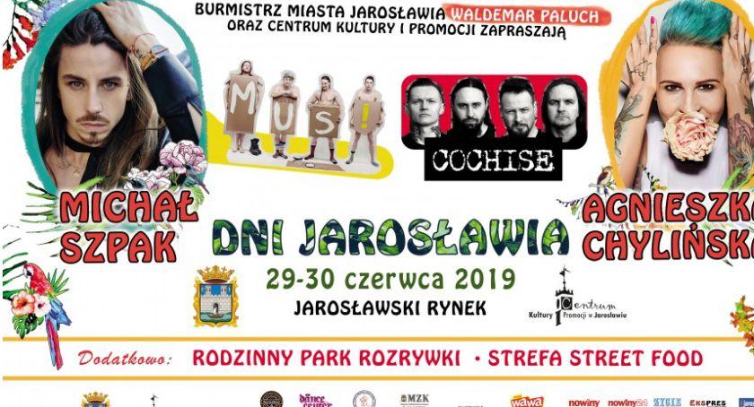 Muzyka, Jarosławia koncert Michała Szpaka - zdjęcie, fotografia