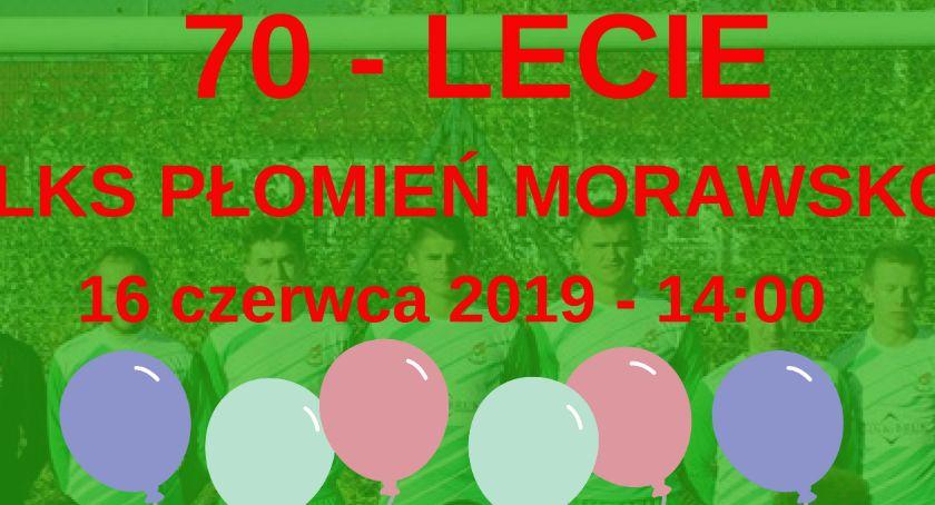 70-lecie LKS Płomień Morawsko