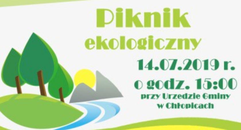 Wydarzenia, Piknik Ekologiczny Chłopicach - zdjęcie, fotografia
