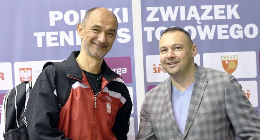Tenis stołowy, Kamil Dziukiewicz władzach Superligi - zdjęcie, fotografia